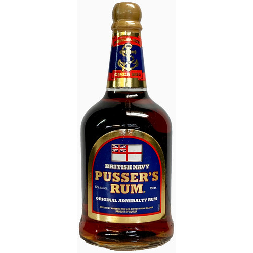 Pussers British Navy Dark Rum