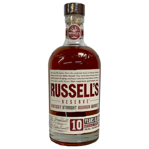 Russells Reserve 10 Year Straight Bourbon Whiskey