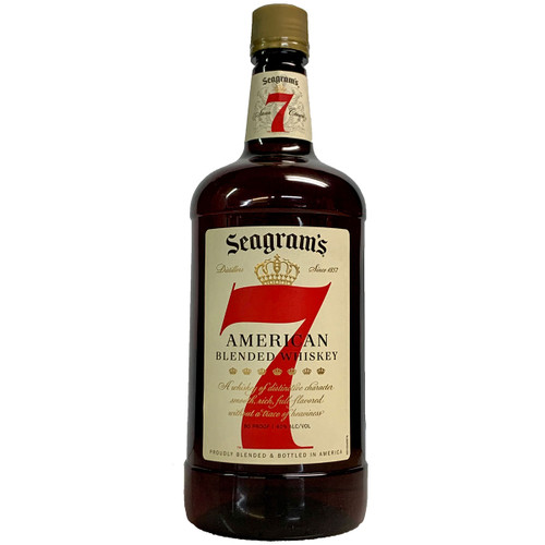 Seagrams 7 Canadian Whisky 1.75L