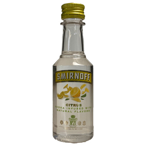 Smirnoff Citrus Vodka 50ML