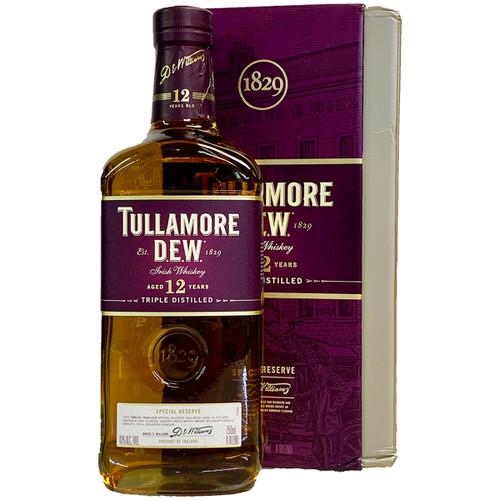 Tullamore Dew 12 Year Triple Distilled Irish Whiskey