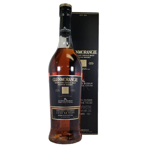 Glenmorangie 12 Year Quinta Ruban Scotch Whisky