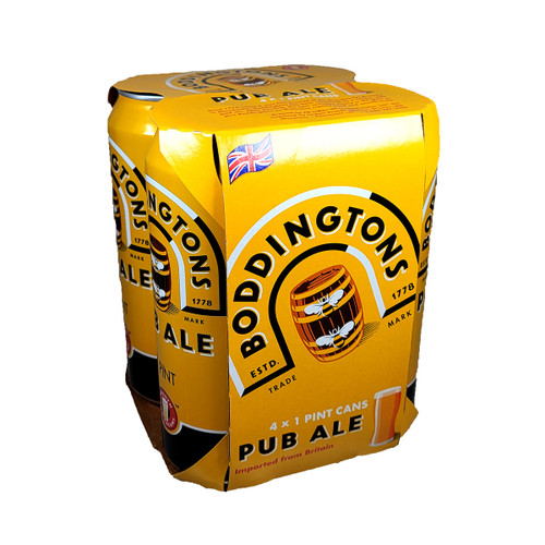 Boddingtons Pub Ale 4-Pack Can