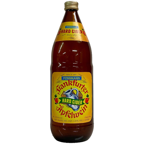 Possmann Frankfurter Apfelwine Hard Cider 1L