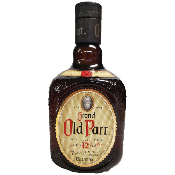 Grand Old Parr 12 Year Blended Scotch Whisky