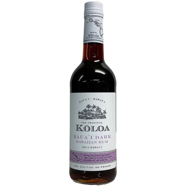 Koloa Kauai Dark Rum