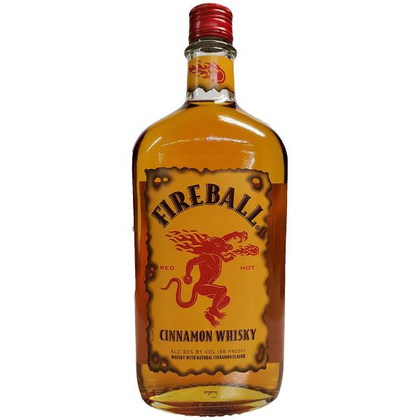 Fireball Cinnamon Flavored Whisky