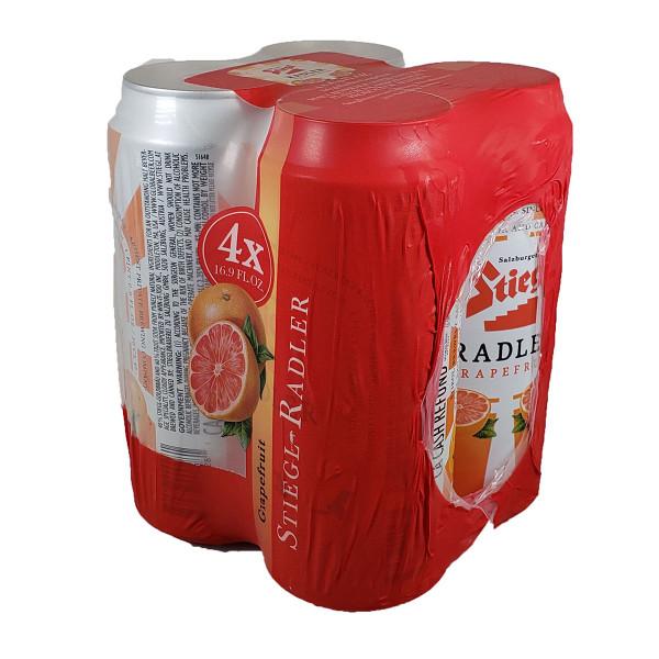 Stiegl Radler Grapefruit 4-Pack Can