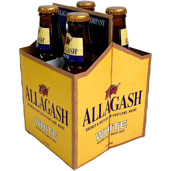 Allagash White Belgian-Style Wheat Beer 4-Pack