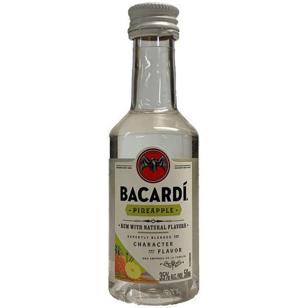 Bacardi Pineapple Fusion Rum 50ML