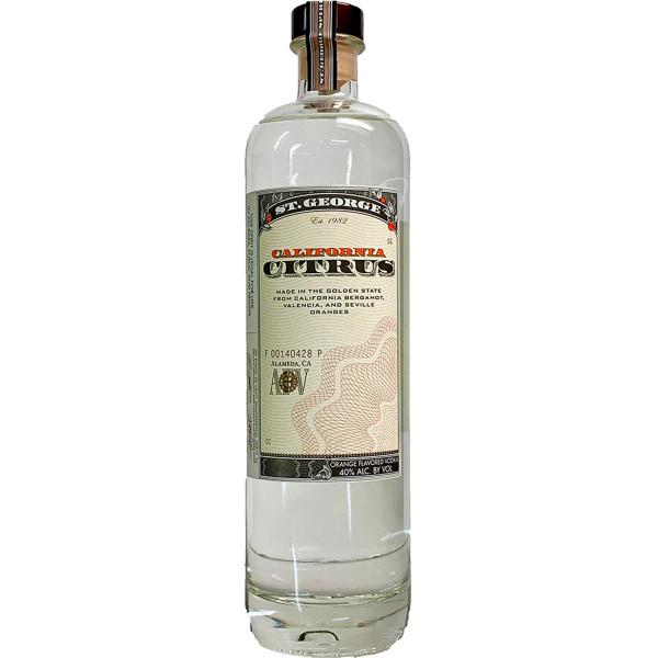 St George California Citrus Vodka