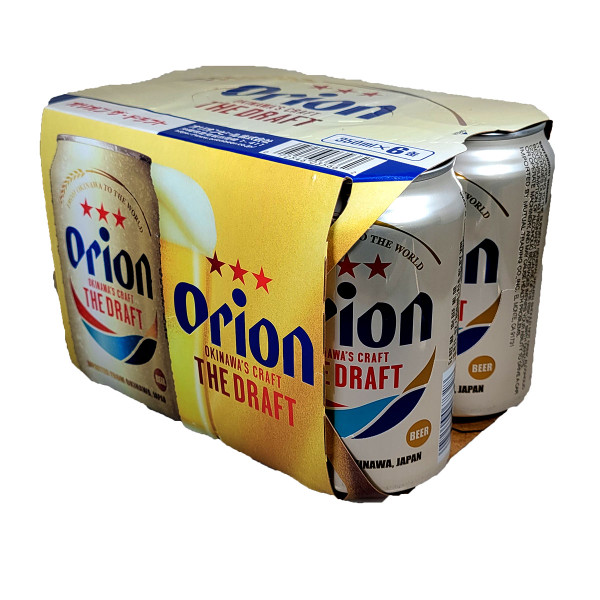 Orion Premium Draft Beer 6-Pack Can