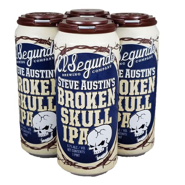 El Segundo Steve Austin's Broken Skull IPA 4-Pack Can