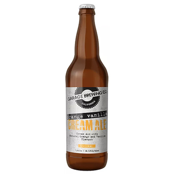 Garage Brewing Orange Vanilla Cream Ale