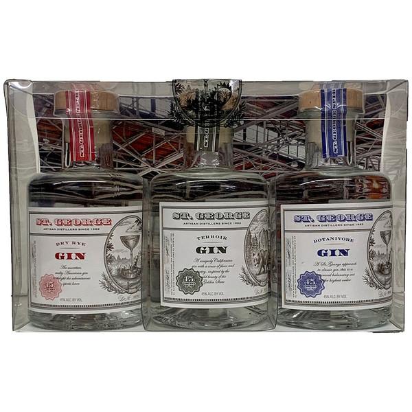 St George Gin Three Bottle Sampler Gift Pack