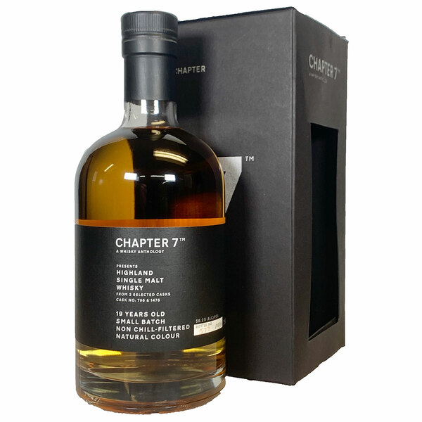 Chapter 7 Highland 19 Year Single Malt Scotch