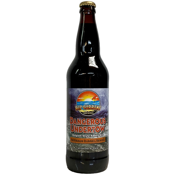 Rip Current Barrel Aged Dangerous Undertow Belgian Dark Strong Ale