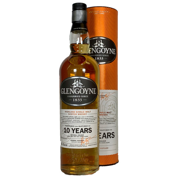 Glengoyne 10 Year Highland Single Malt Scotch Whisky