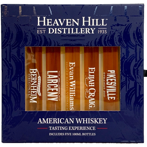 Heaven Hill Distillery American Whiskey Tasting Experience Gift Pack