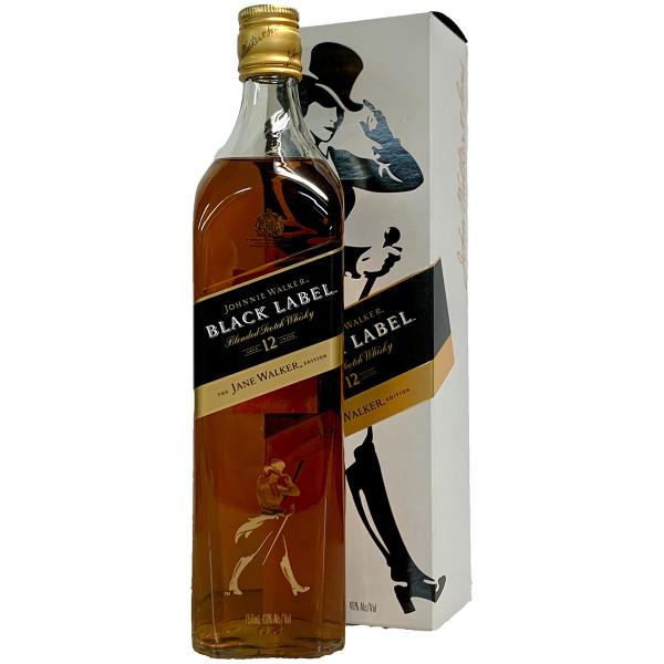 Jane Walker Black Label Blended Scotch Whisky