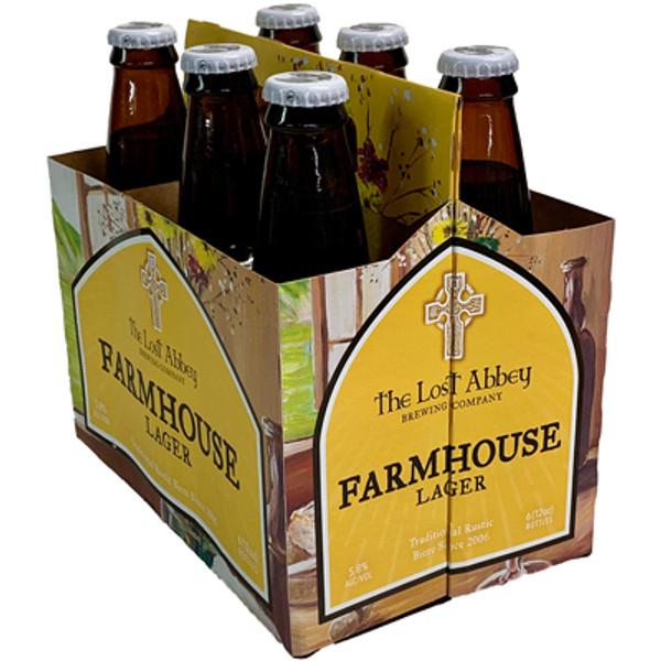 Lost Abbey Farmhouse Lager 6-Pack