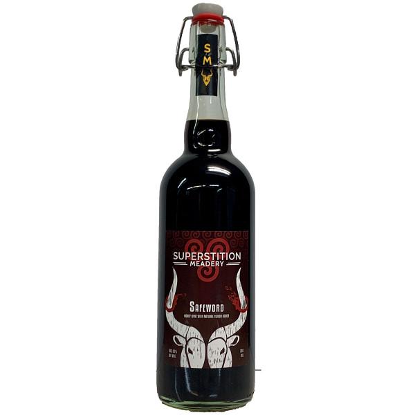 Superstition Meadery Safeword Honey Wine