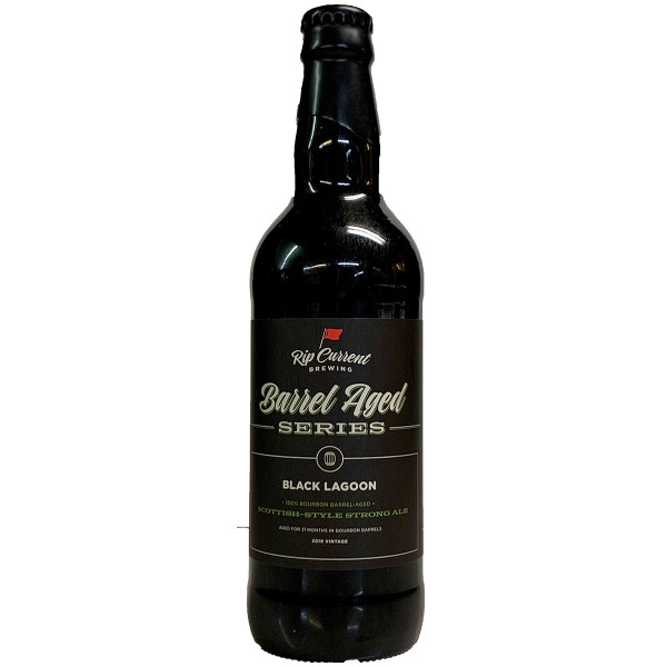 Rip Current Black Lagoon Barrel Aged Scottish-Style Strong Ale