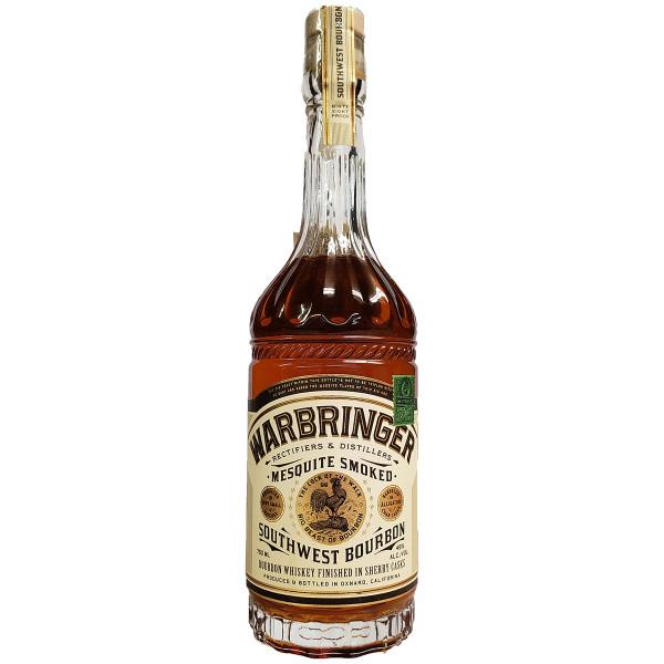 Warbringer Mesquite Smoked Southwest Bourbon Whiskey
