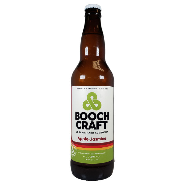 Boochcraft Apple Lime Jasmine Kombucha