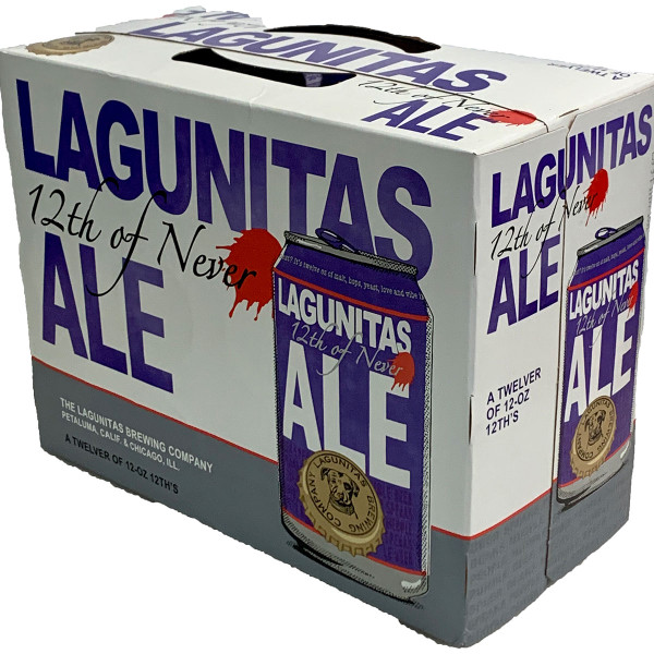 Lagunitas 12th Of Never Pale Ale 12-Pack Can