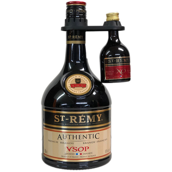 St Remy Authentic VSOP Brandy And Mini Gift Pack
