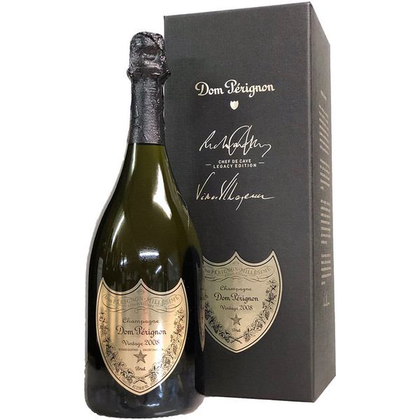 Moet & Chandon 2008 Dom Perignon Brut Legacy Edition Gift Box | 98 POINTS