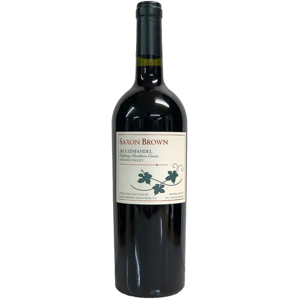 Saxon Brown 2013 Fighting Brothers Cuvee Zinfandel | 93 POINTS