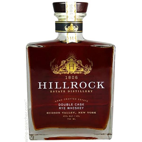 Hillrock Double Cask Rye Whiskey