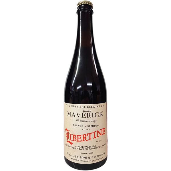 Libertine Maverick Tequila Barrel Aged Wild Ale