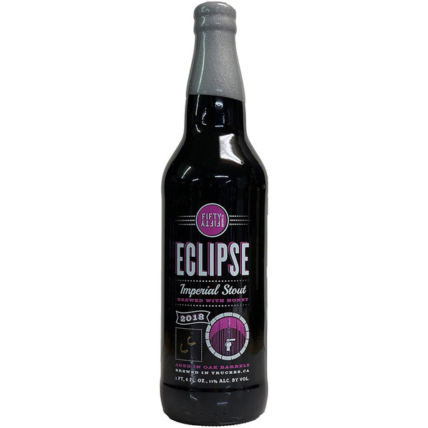 Fifty Fifty Eclipse Barrel Aged Imperial Stout 2018 - Coconut
