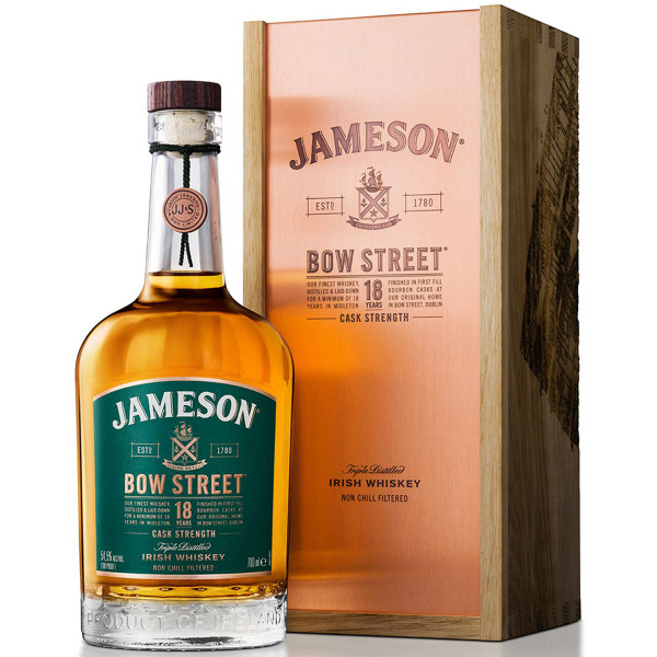 Jameson Bow Street 18 Year Cask Strength Irish Whiskey