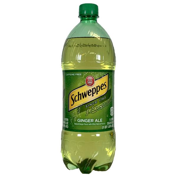 Schweppes Ginger Ale 1.0L
