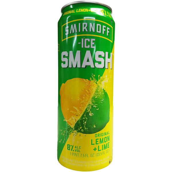 Smirnoff Ice Smash Lemon Lime Can
