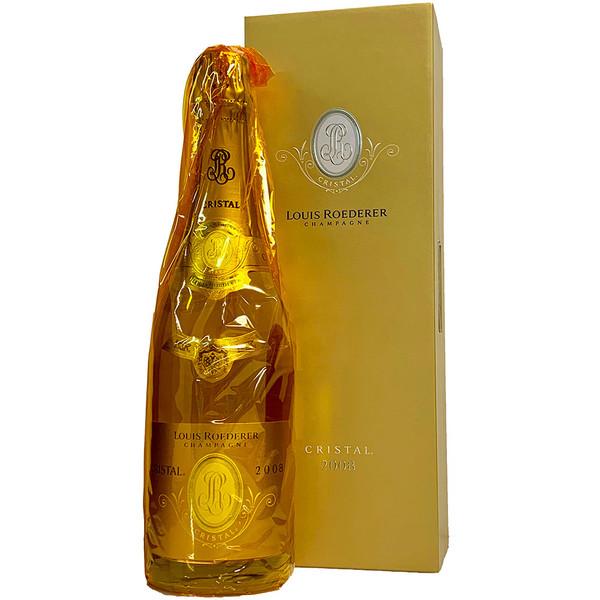 Louis Roederer 2008 Cristal Brut w/ Gift Box | 98+ POINTS