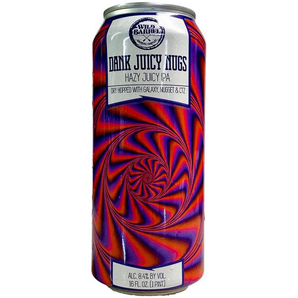 Wild Barrel Dank Juicy Nugs Hazy Juicy IPA Can