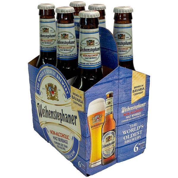 Weihenstephaner Non-Alcoholic Malt Beverage 6-Pack