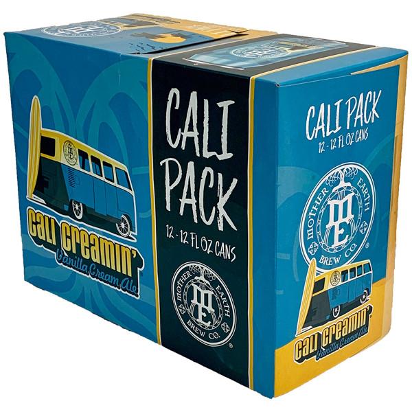 Mother Earth Cali Creamin' Vanilla Cream Ale 12-Pack Can
