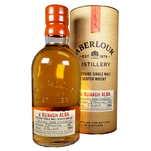Aberlour A'Bunadh Cask Strength Single Malt Scotch Whisky