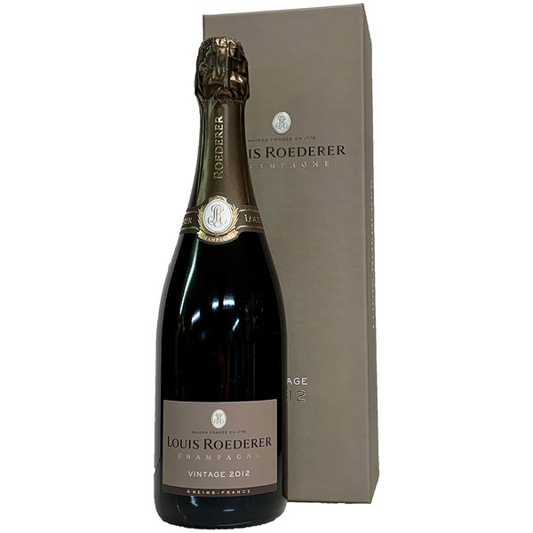 Louis Roederer 2012 Brut w/ Gift Box | 95 POINTS