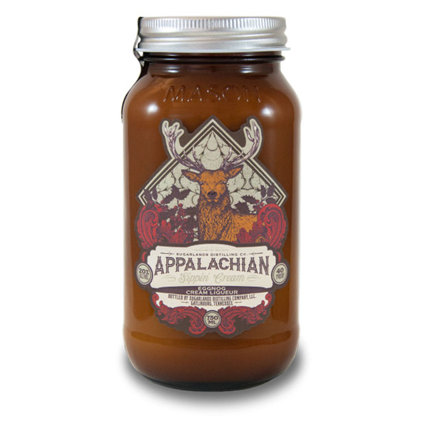 Sugarlands Shine Eggnog Sippin' Cream Tennessee Moonshine