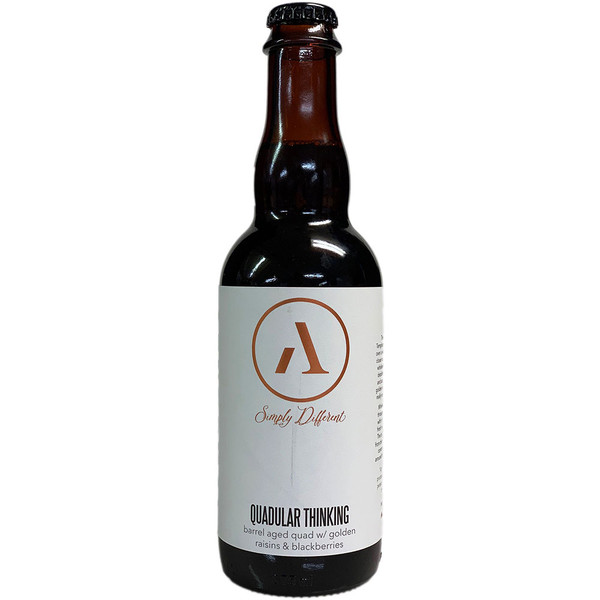 Abnormal Quadular Thinking Barrel Aged Quad