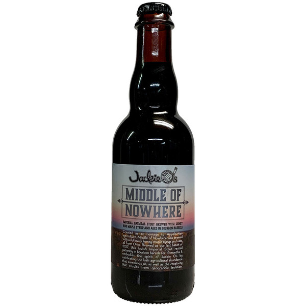 Jackie O's Middle Of Nowhere Imperial Oatmeal Stout
