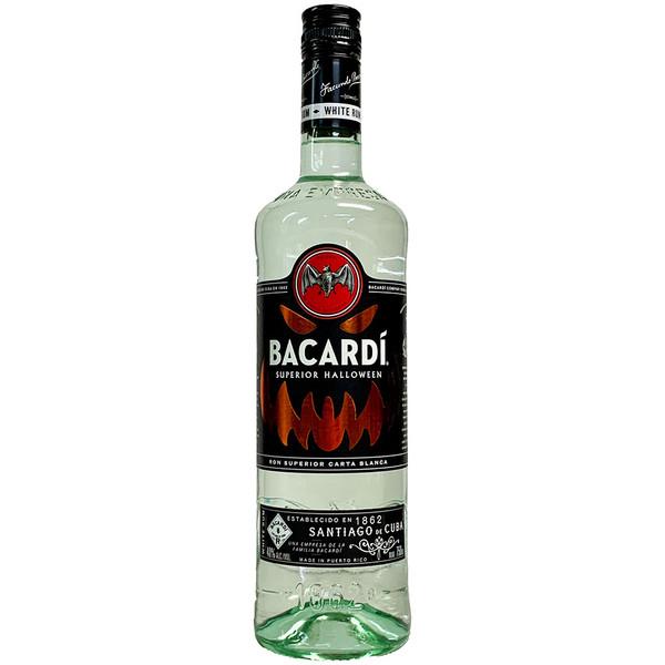 Bacardi Superior Halloween Glow-In-The-Dark Rum