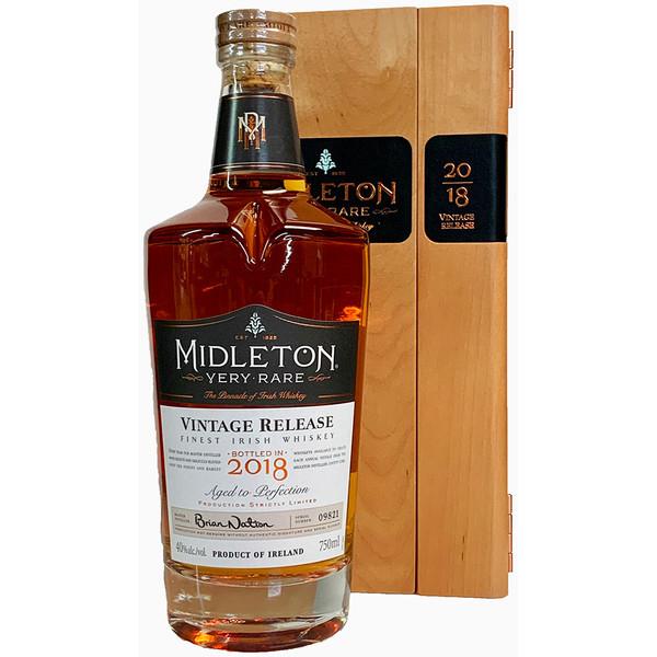 Midleton Very Rare 2018 Vintage Release Irish Whiskey